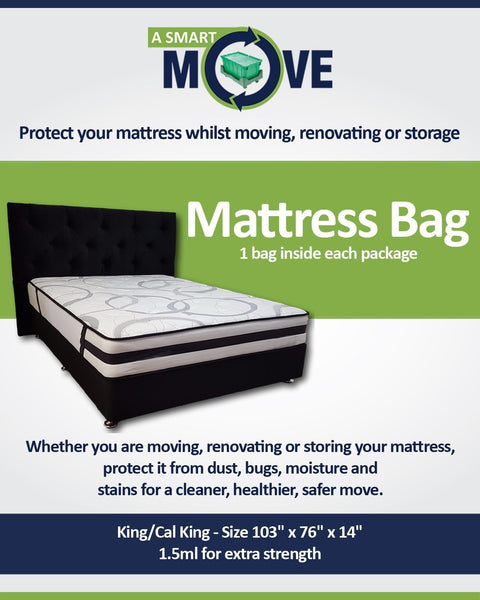 Full/Queen Mattress Bag - $8.00 - A SMART MOVE