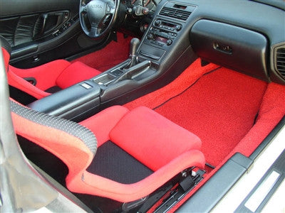 NSX Floor Mats (Plain) w/ After-Market Subwoofer 91-'05