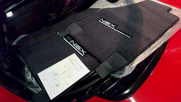 Brand New OE Acura Made in Japan Floor Mats with LOGO