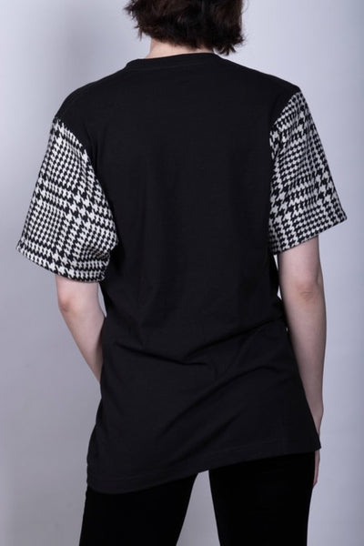 Social D Houndstooth Top