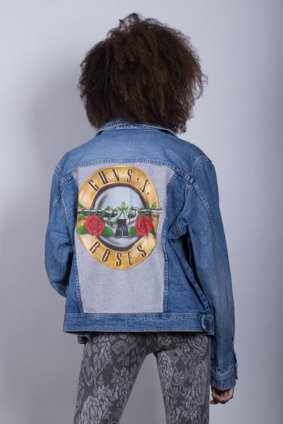 Vintage Guns N Roses Denim Jacket