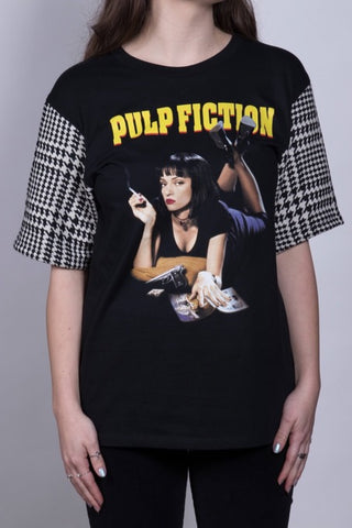 Pulp Fiction Houndstooth Top
