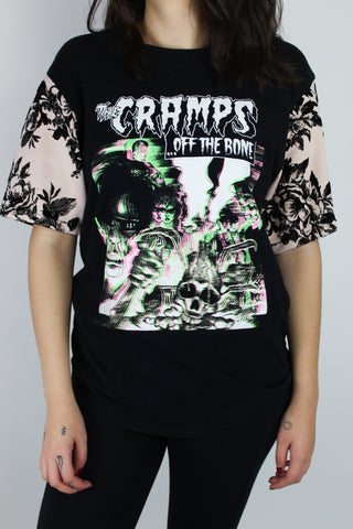 Cramps Floral Sleeve Tee