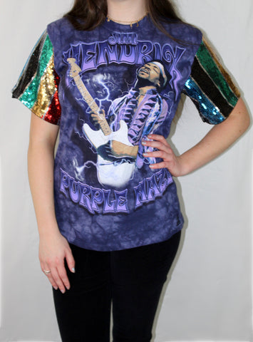 Sequined Hendrix Tee