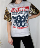 Leopard Led Zeppelin Top
