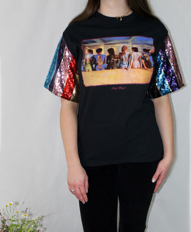 Sequined Pink Floyd Tee