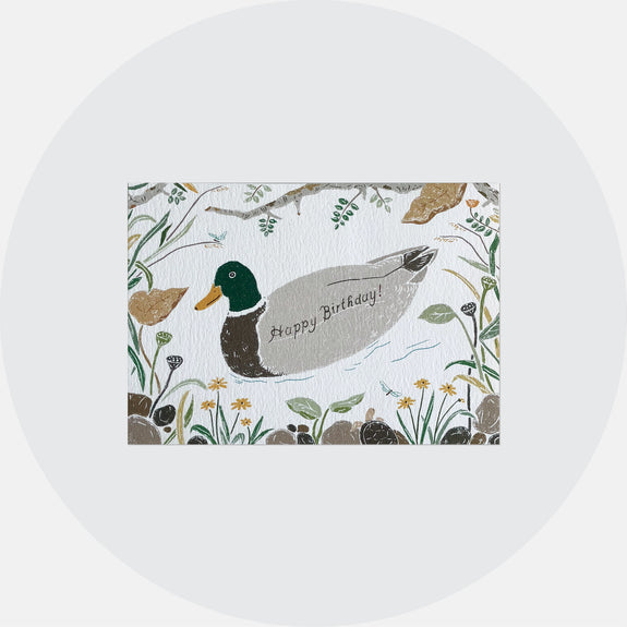 Duck Birthday Card <br> 鴨子生日卡