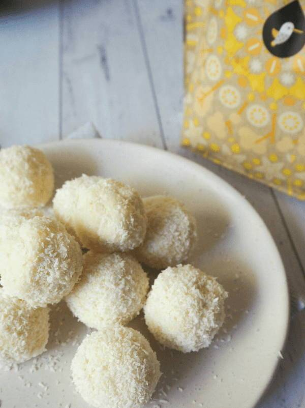 Lemon & Coconut Protein Balls