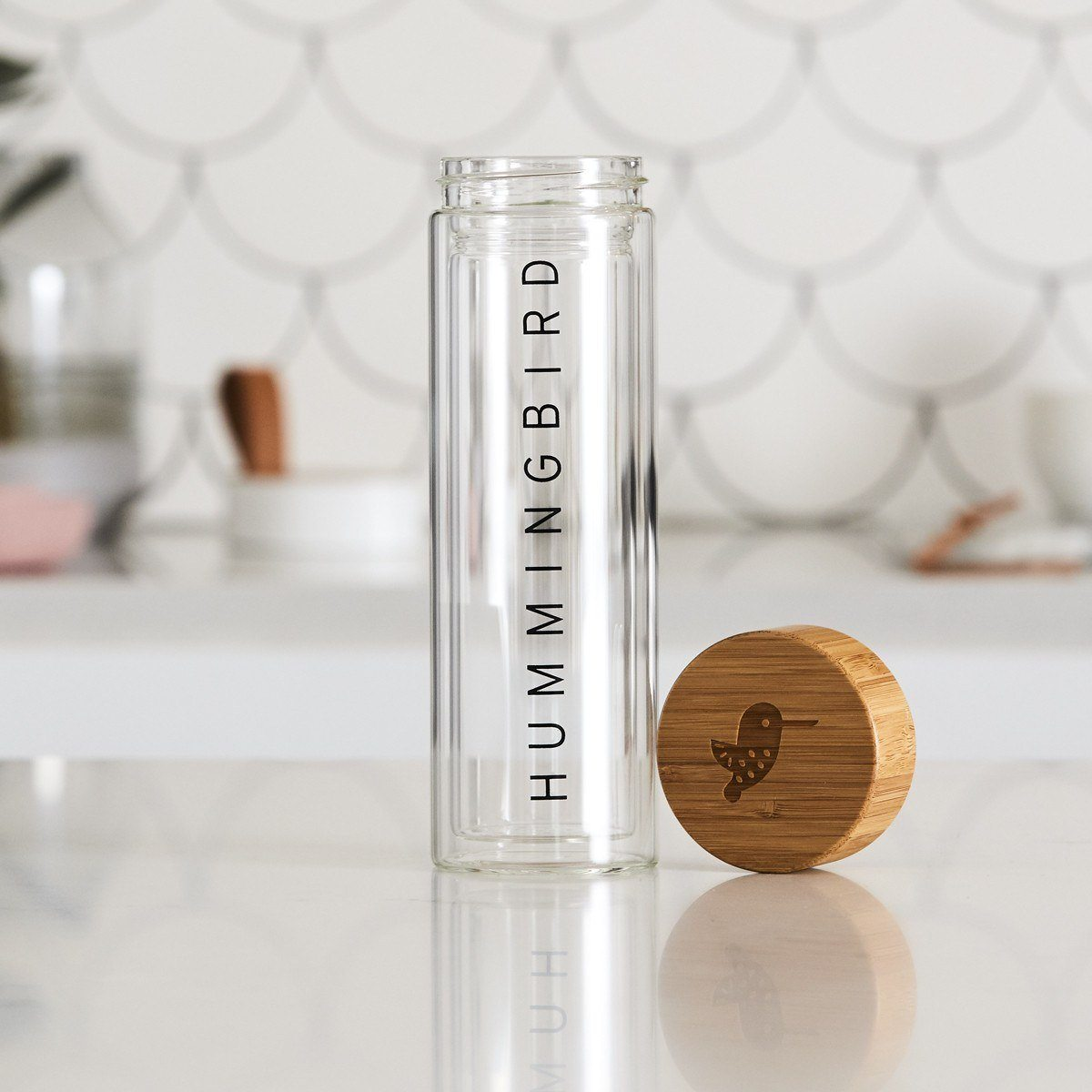 Thermos Glass Flask