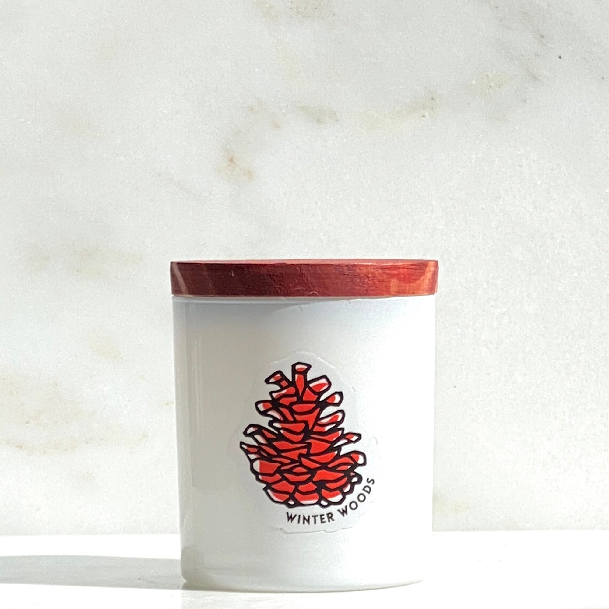 Winter Woods Holiday Candle