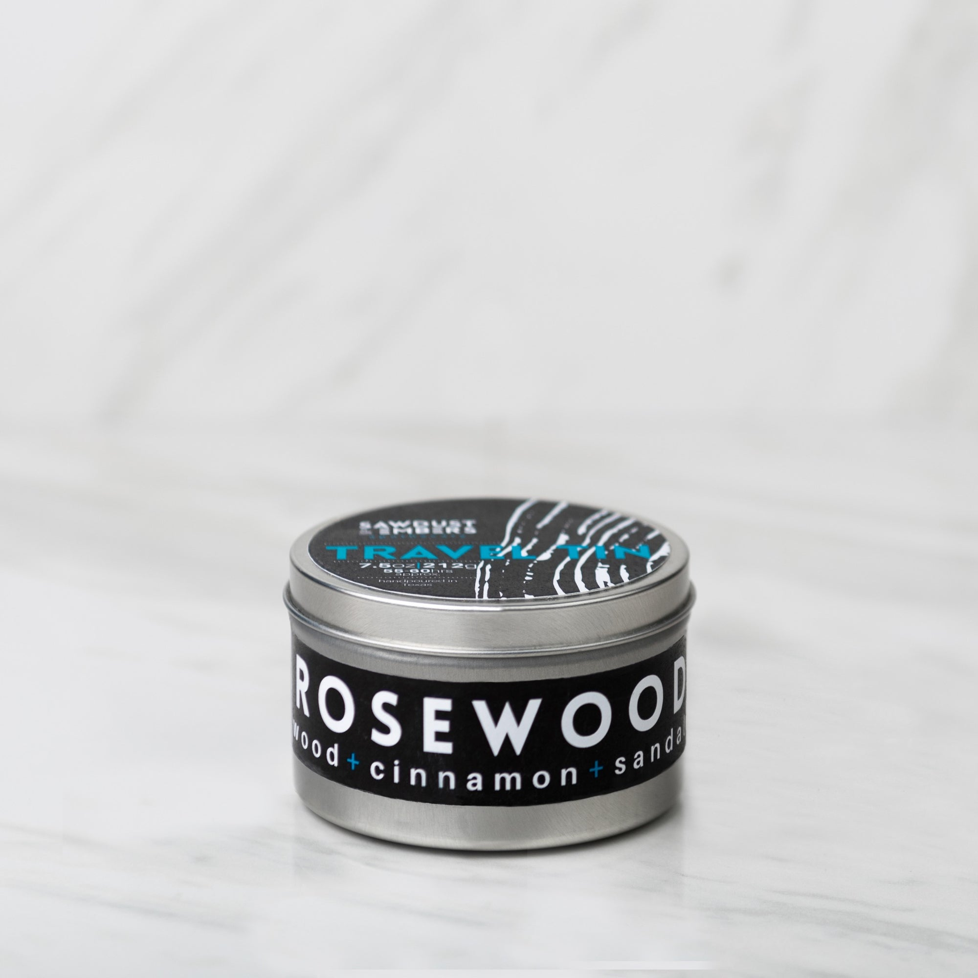 Rosewood Travel Candle