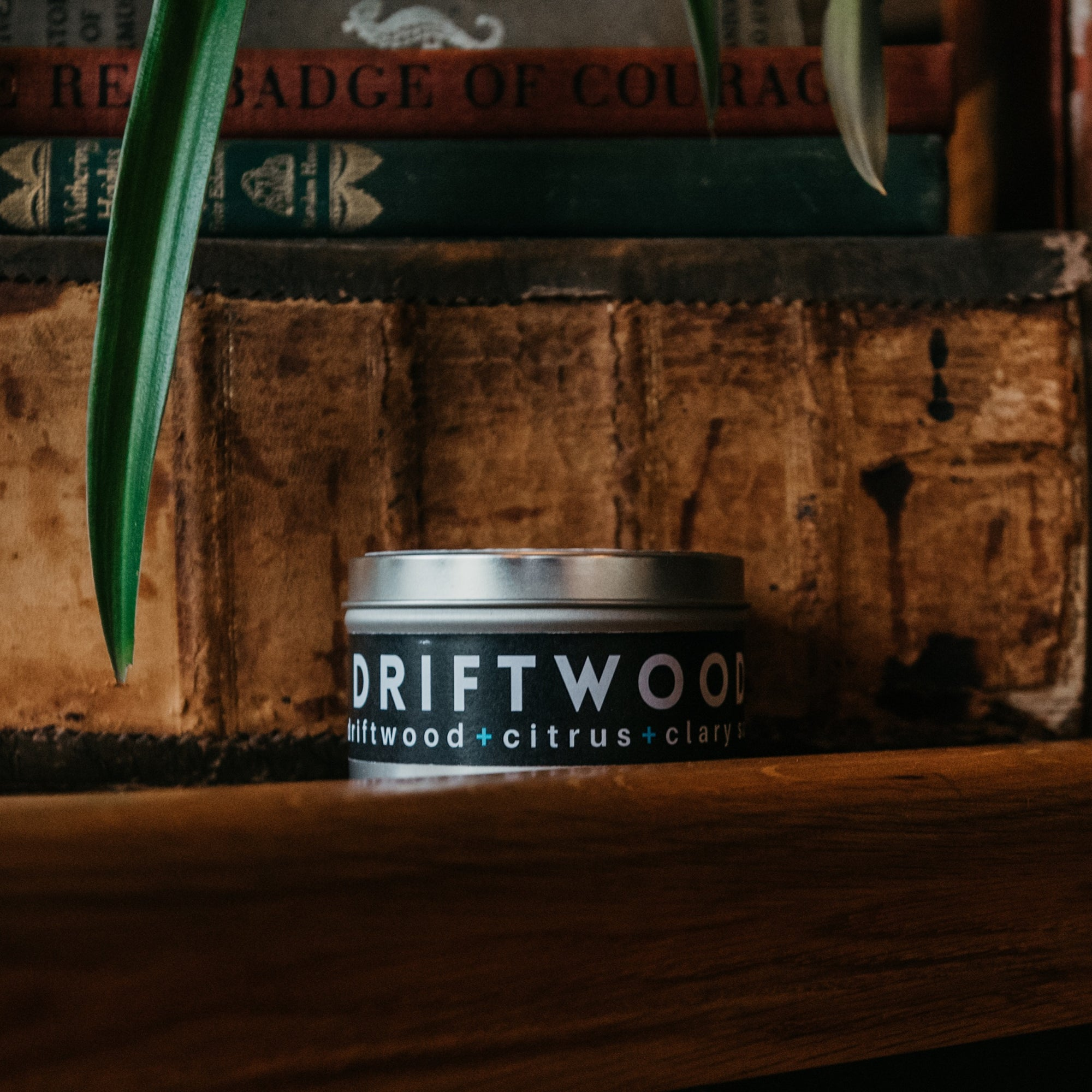 Driftwood Travel Candle - Scratch/Dent