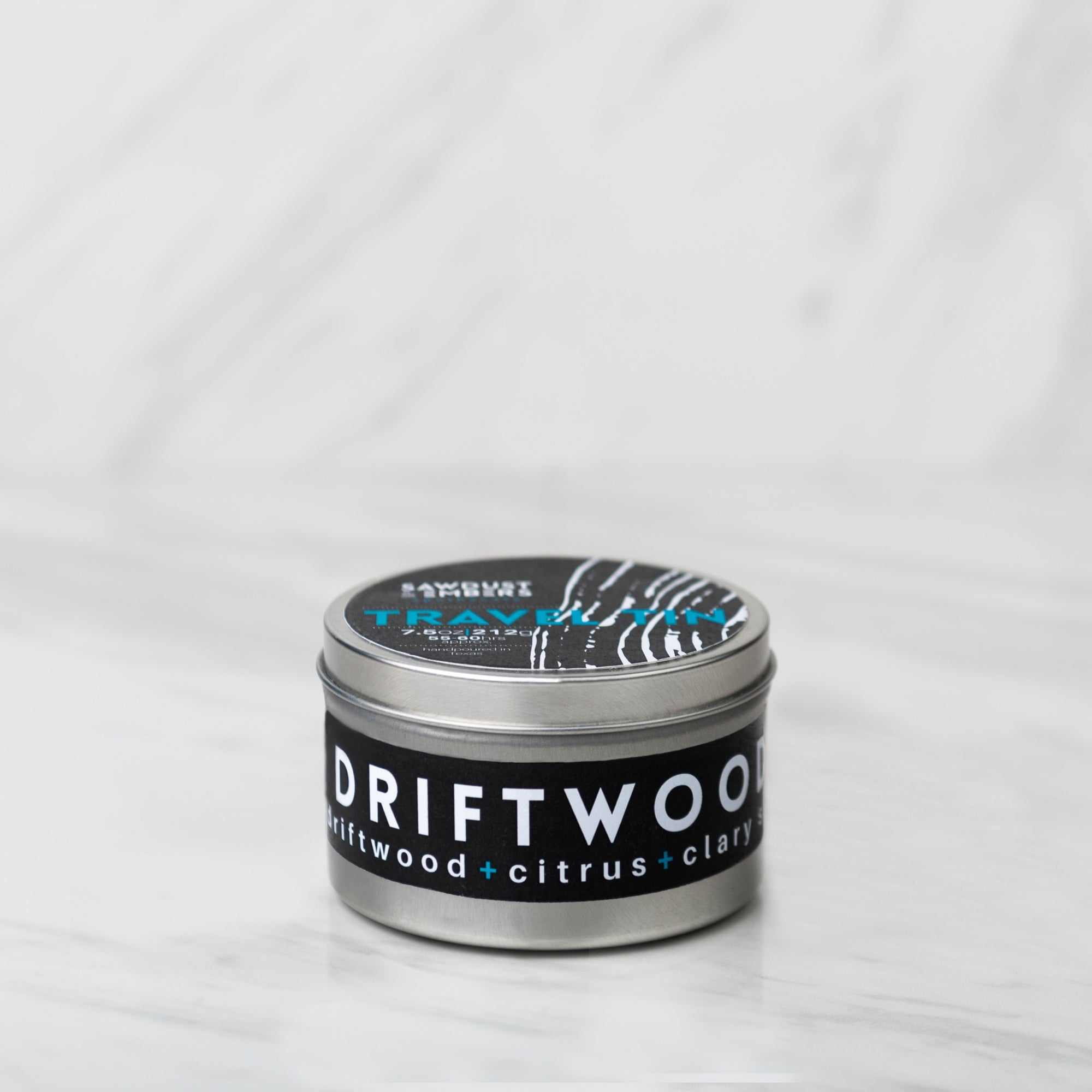 Driftwood Travel Candle