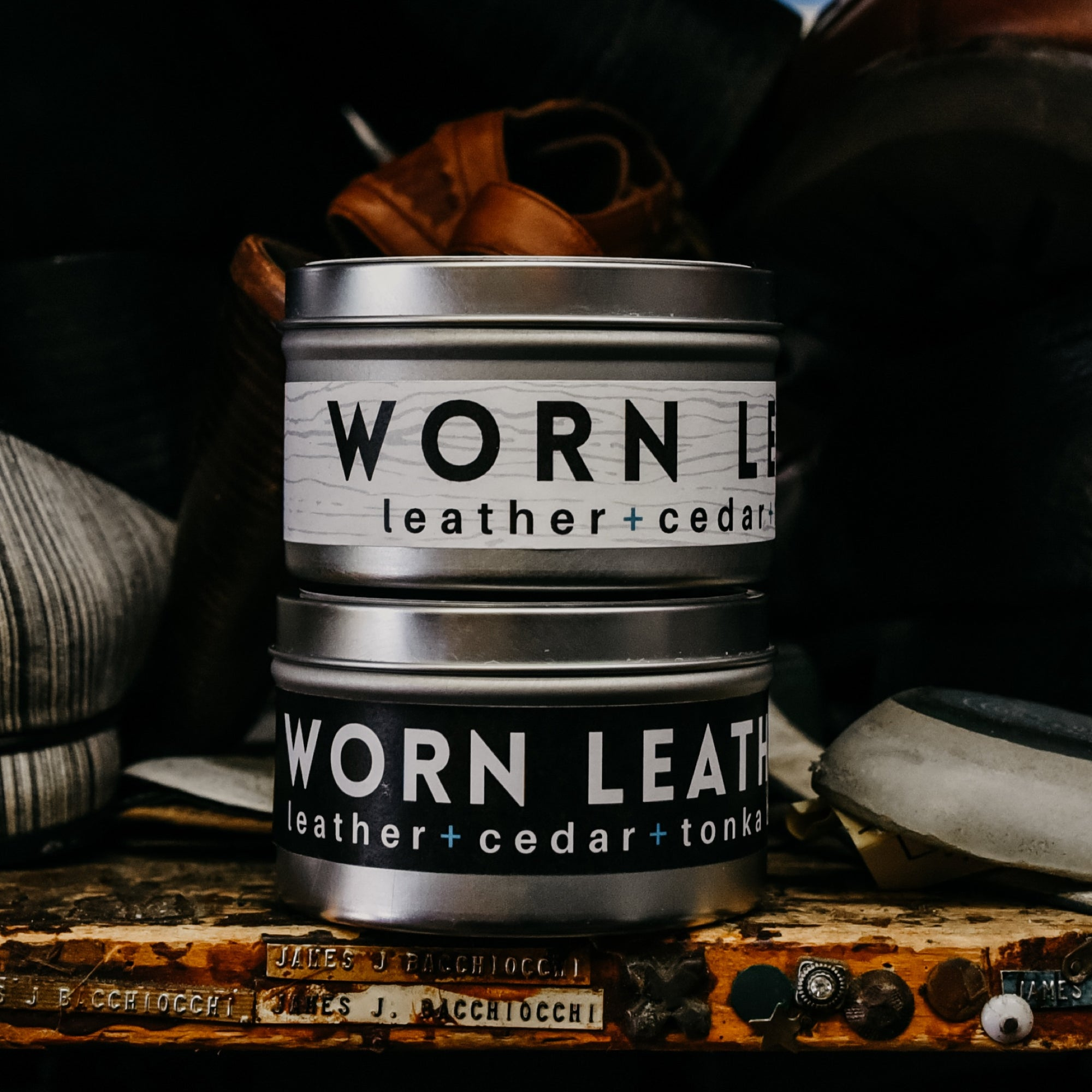 Worn Leather Wax Melts