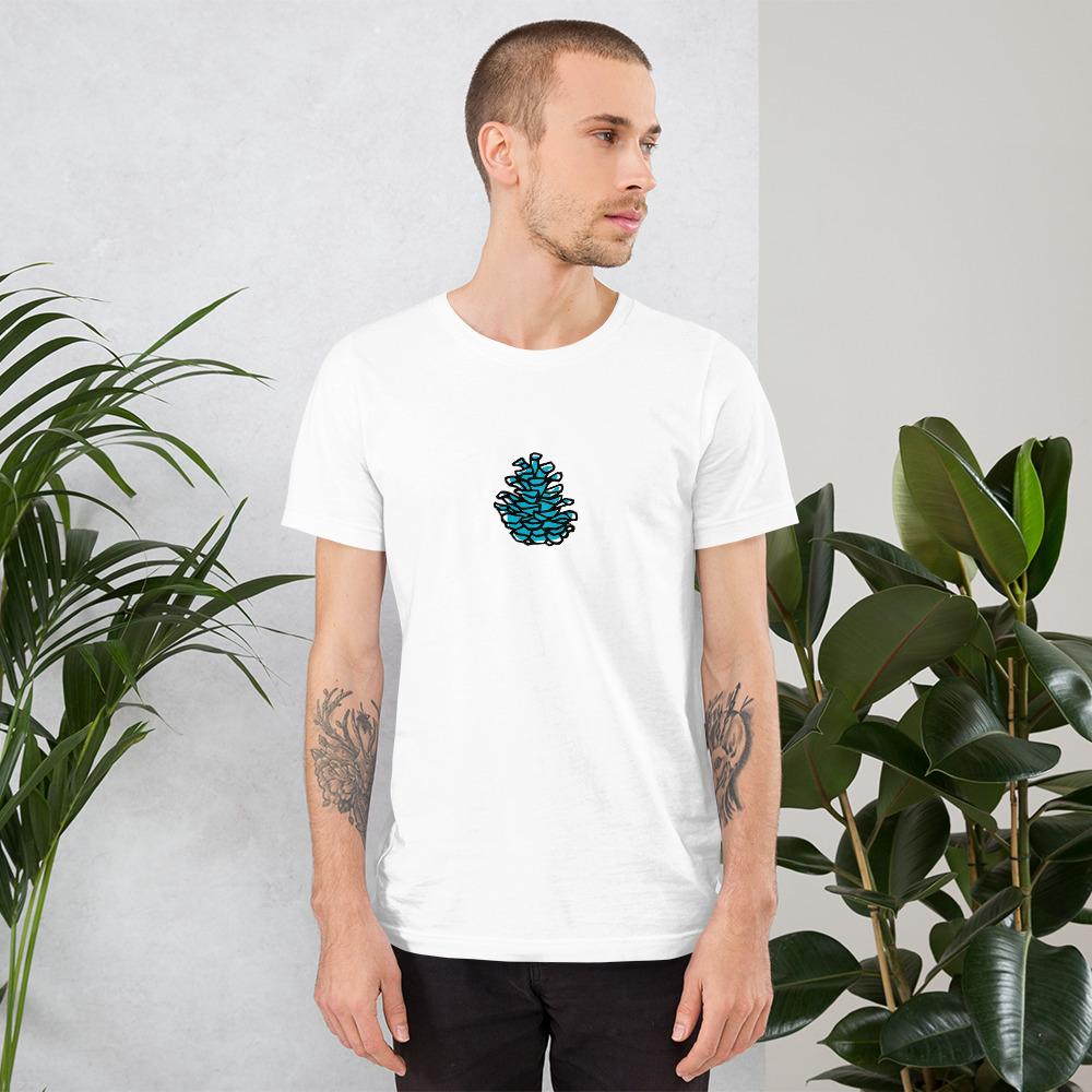 Pinecone Short-Sleeve Unisex T-Shirt - Sawdust & Embers