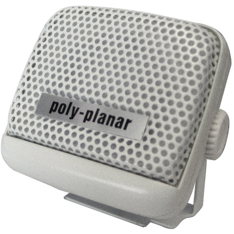PolyPlanar VHF Extension Speaker - 8W Surface Mount - (Single) White