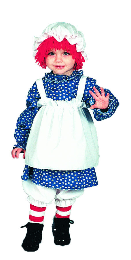 RAGGEDY ANN CHILD 4 TO 6