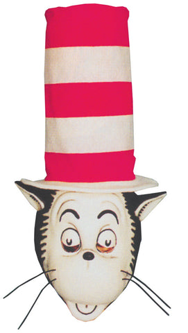 CAT IN THE HAT MASK W HAT