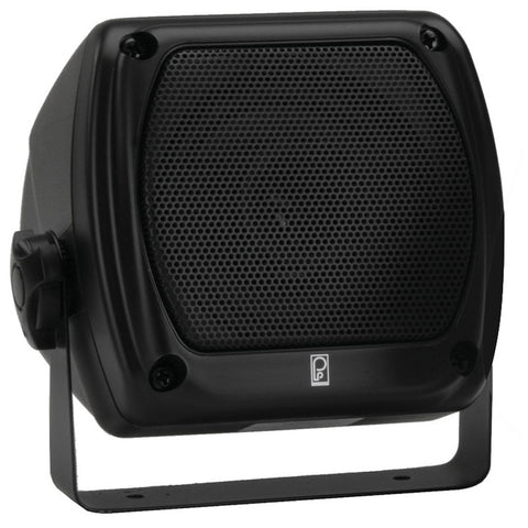 PolyPlanar Subcompact Box Speaker - (Pair) Black
