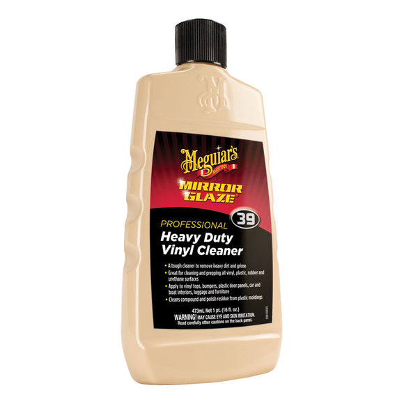 Meguiar's M39 Mirror Glaze Heavy Duty Vinyl Cleaner - 16oz