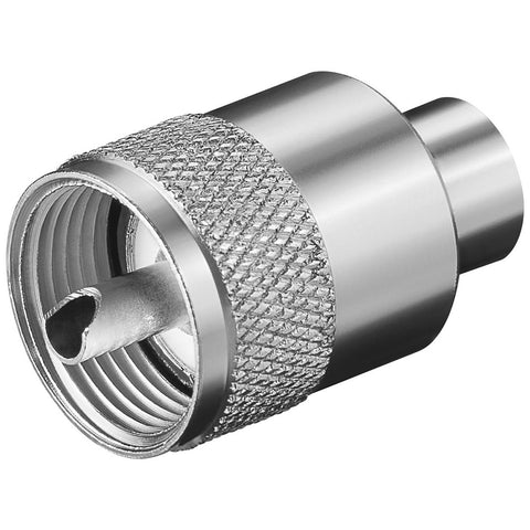 Glomex PL-259 Male Connector f/RG58 C/U Coax Cable