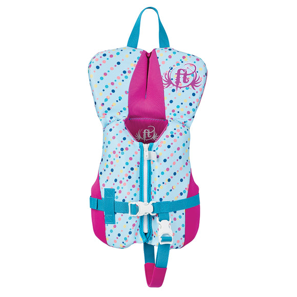 Rapid-Dry Flex-Back Life Vest - Infant to 30lbs - Aqua