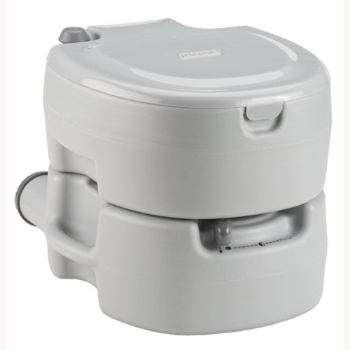 Coleman Large Portable Flush Toilet Grey 2000016503