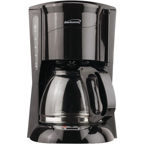 BRENTWOOD TS-218B 12-Cup Coffee Maker (Black; Digital)