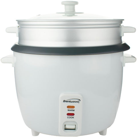BRENTWOOD TS-380S Rice Cooker (10 cup) with Steamer
