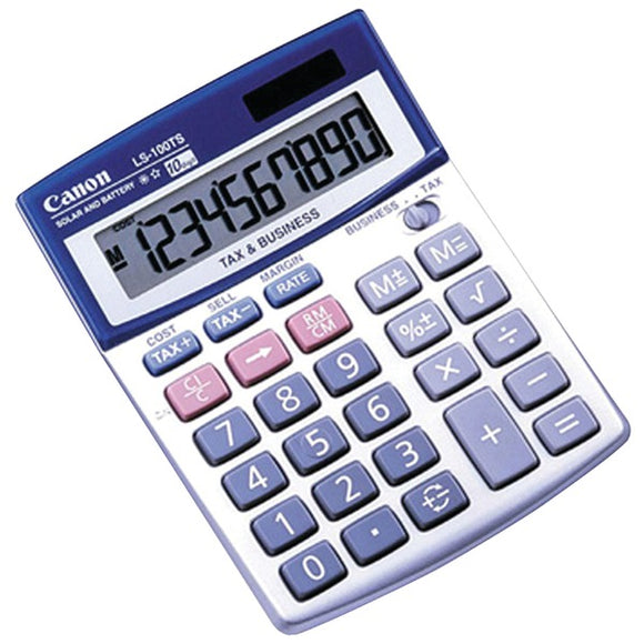 CANON 5936A028 LS100TS 10-Digit Calculator