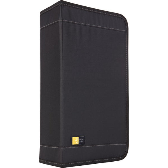CASE LOGIC CDW-92BLACK Nylon CD Wallets (92 Disc)
