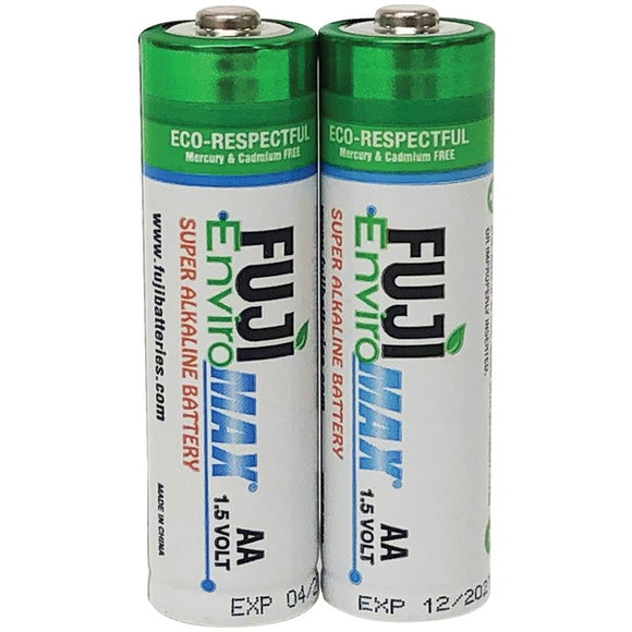 Fuji Batteries 4300BP2 EnviroMax AA Digital Alkaline Batteries (2 pk)