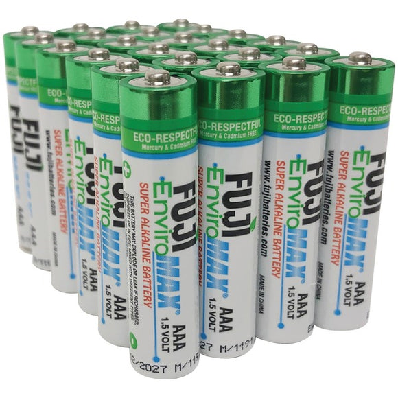 Fuji Batteries 4400BP24 EnviroMax AAA Digital Alkaline Batteries (24 pk)