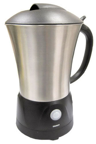 Sunpentown One-Touch Milk Frother Warmer Soft-touch Non stick surface MF-0620