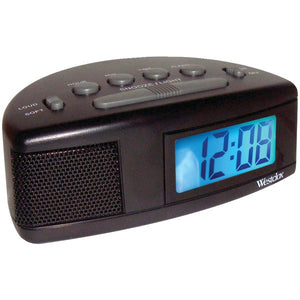 WESTCLOX 47547 Super Loud LCD Alarm Clock with Blue Backlight ( ptr-NYL47547.2 )