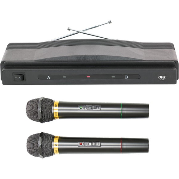 QFX M-336 Twin-Pack Wireless Dynamic Microphone System