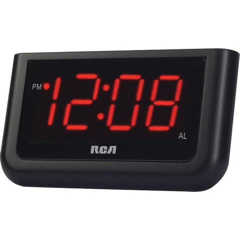 "RCA RCD30 Alarm Clock with 1.4"" Red Display"