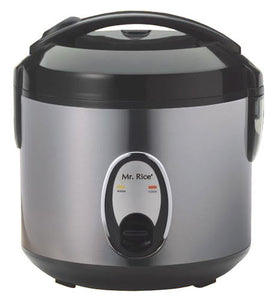 Sunpentown 6-cups Rice Cooker with Stainless Body SC-1201S