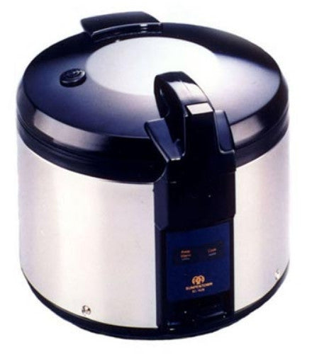 Sunpentown 26 Cups Rice Cooker Super Large heavy duty stainless body SC-1626