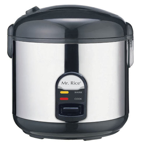 Sunpentown 10-cups Rice Cooker with Stainless Body SC-1812S
