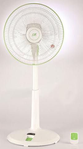 "Sunpentown 14"" DC-Motor Energy Saving Stand Fan with remote control SF-1469"