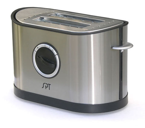 Sunpentown 2 Slot Stainless Steel Toaster SO-337T