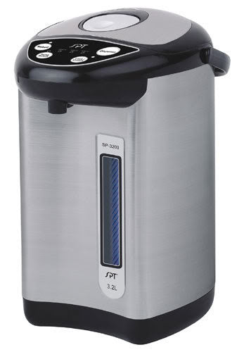 Sunpentown Stainless Hot Water Dispenser w/ Multi-Temp Feature 3.2L