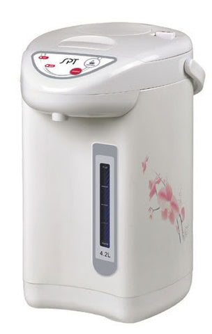 Sunpentown Hot Water Dispenser with Dual-Pump System (4.2L) White SP-4201