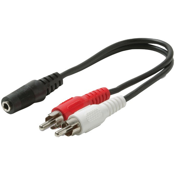 STEREN 255-036 Y-Cable Audio Adapter