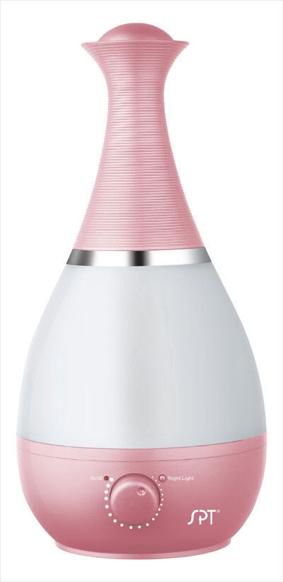 Sunpentown Ultrasonic Humidifier with Fragrance Diffuser - Pink SU-2550P