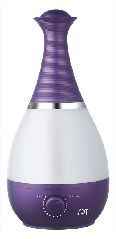 Sunpentown Ultrasonic Humidifier with Fragrance Diffuser - Violet SU-2550V