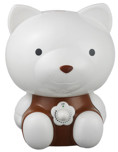 Sunpentown Bear Ultrasonic Humidifier for child's room - White and Brown SU-3881