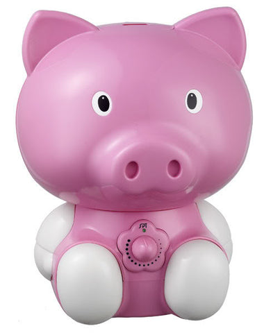 Sunpentown Pig Ultrasonic Humidifier perfect for child's room - Pink SU-3882