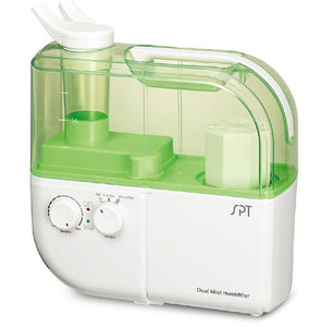 Sunpentown Dual Mist Humidifier with ION Exchange Filter - Green SU-4010G